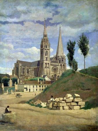 Chartres Cathedral, 1830
