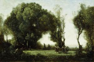 Danse Des Nymphes by Jean-Baptiste-Camille Corot