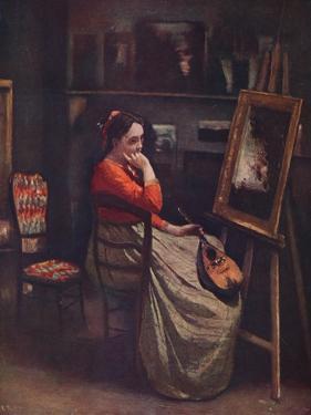 'L'atelier de Corot', c1865, (1939) by Jean-Baptiste-Camille Corot