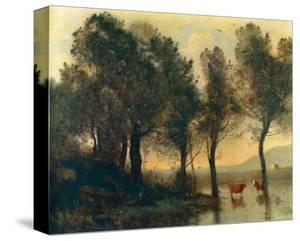 L'Etang, c.1796-1875 by Jean-Baptiste-Camille Corot