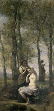 La Toilette by Jean-Baptiste-Camille Corot