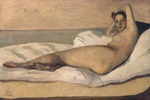 Marietta (The Roman Odalisqu) by Jean-Baptiste-Camille Corot