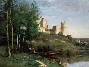 Ruins of the Chateau De Pierrefonds, C.1830-35 by Jean-Baptiste-Camille Corot