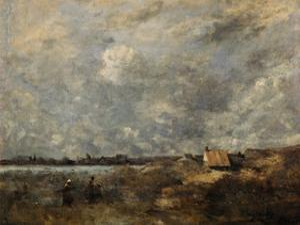 Stormy Weather. Pas De Calais, C. 1870 by Jean-Baptiste-Camille Corot