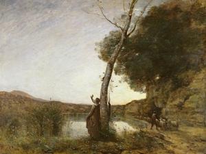 The Shepherd's Star, 1864 by Jean-Baptiste-Camille Corot