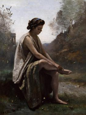 The Wounded Eurydice, C.1868-70 by Jean-Baptiste-Camille Corot