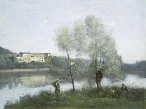 Ville D'Avray, c.1865 by Jean-Baptiste-Camille Corot