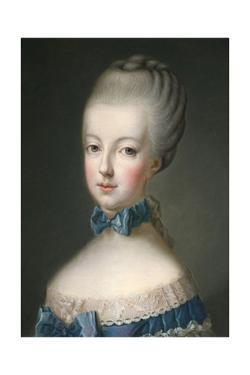 Marie Antoinette Queen of France, 1770 by Jean Baptiste Charpentier