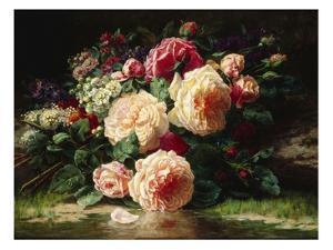 June Days by Jean Baptiste Claude Robie