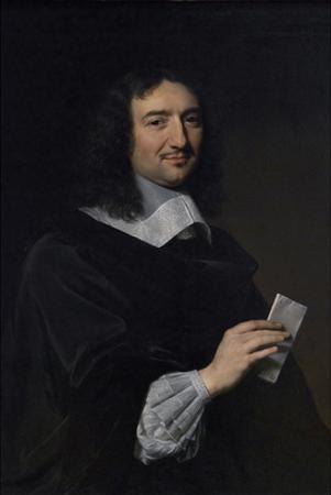Portrait Philippe De Champaigne by Jean Baptiste Colbert