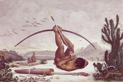 Cabocle a Civilized Indian Shooting a Bow