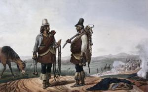Gauchosbrazil by Jean Baptiste Debret