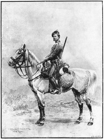 A Chasseur of the Guard, Russia, 1892