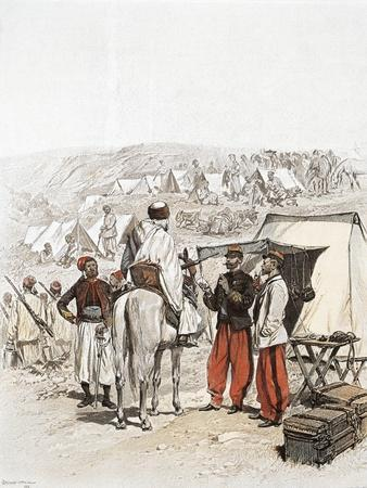 Zouave Encampment, 1886