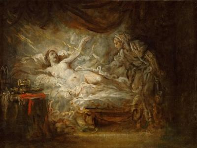 Jupiter and Aegina by Jean-Baptiste Greuze
