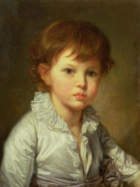 Portrait of Count Stroganov as a Child, 1778 by Jean-Baptiste Greuze