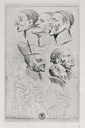Figures of Jesuits in Caricature, C.1762