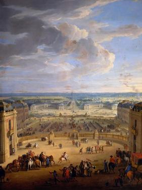 The Grande Écurie (Royal Stable) of the Château De Versailles by Jean-Baptiste Martin