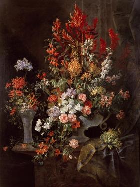 Two Vases of Flowers by Jean-Baptiste Monnoyer