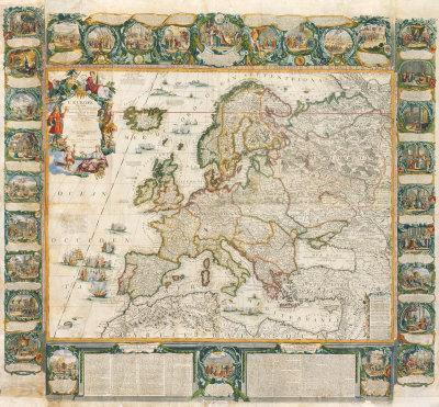L'Europe Historique et Le Theatre des Actions Heroiques de Louis Le Grand, 1775