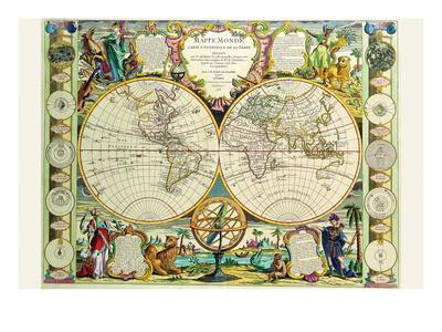 Mappa Monde Carte Universelle De La Terre
