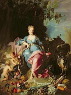 Abundance, 1719 by Jean-Baptiste Oudry