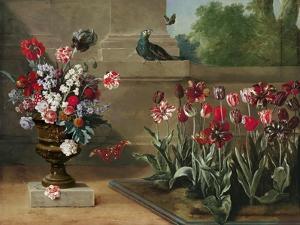 Corner of Monsieur De La Bruyere's Garden, 1744 by Jean-Baptiste Oudry