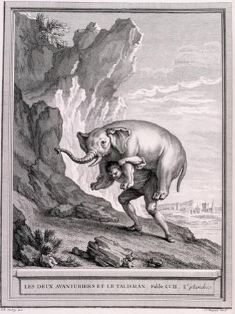 Les Deux Avanturiers Et Le Talisman, C.1755-1759