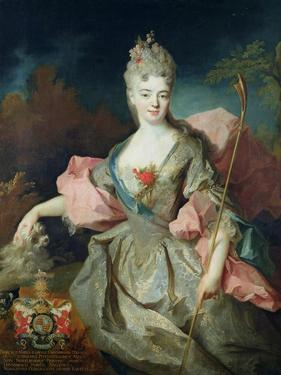 The Countess of Castelblanco by Jean-Baptiste Oudry