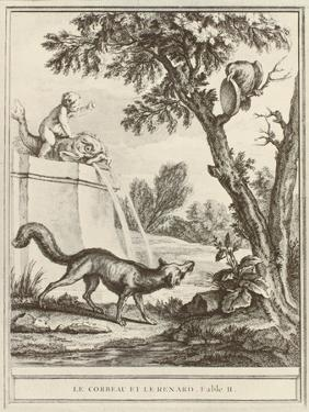 The Fox and the Crow by Jean-Baptiste Oudry