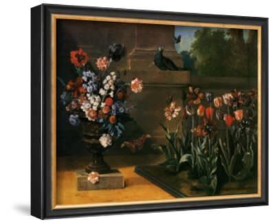 Vase de Fleurs et Parterre de Tulipes, 1744