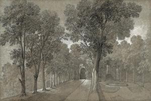 View of the Park at Arcueil, 1744 by Jean-Baptiste Oudry