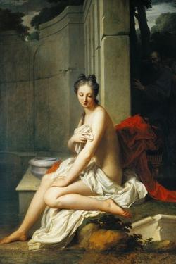 Susanna Having Bath by Jean-Baptiste Santerre