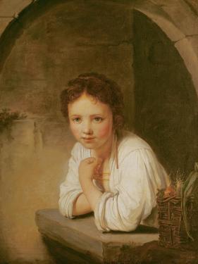 The Little Gardener by Jean Baptiste Santerre