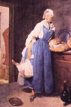 The Bread by Jean-Baptiste Simeon Chardin