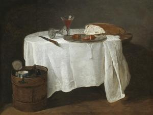 The White Tablecloth, 1731-32 by Jean-Baptiste Simeon Chardin