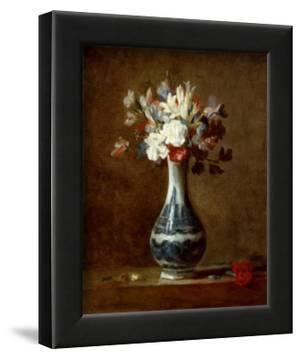 Vase of Flowers by Jean-Baptiste Simeon Chardin