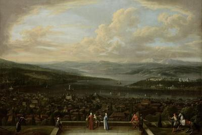 View of Istanbul from the Dutch Embassy at Pera, Jean Baptiste Vanmour