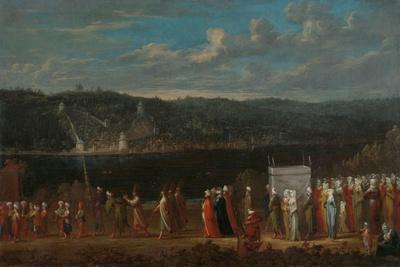 Wedding procession on the Bosphorus, c.1720-37