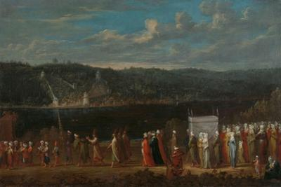 Wedding procession on the Bosphorus, c.1720-37 by Jean Baptiste Vanmour