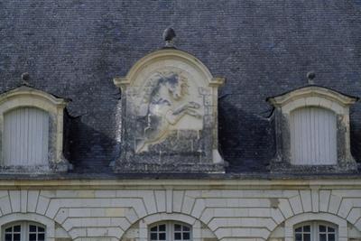 Architectural Detail from Chateau De Montgeoffroy, 1772-1776 by Jean Benoit Vincent Barre