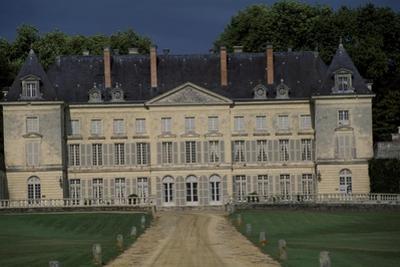 Facade of Chateau De Montgeoffroy, 1772-1776 by Jean Benoit Vincent Barre