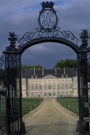 View of Chateau De Montgeoffroy, 1772-1776 by Jean Benoit Vincent Barre