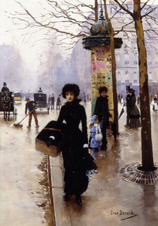 A Parisian; Une Parisienne by Jean Béraud