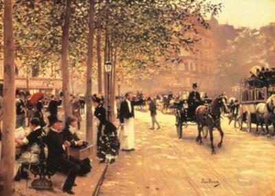 A Sunday Afternoon by Jean Béraud