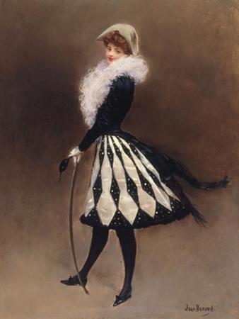 Avant le Bal Masque by Jean Béraud