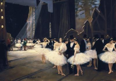 Backstage at the Opera by Jean Béraud