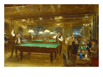 Billiards; Le Billard