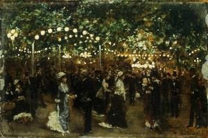 Le Bal Mabile by Jean Béraud