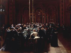 The Casino at Monte Carlo (Rien ne va plus), 1890 by Jean Béraud